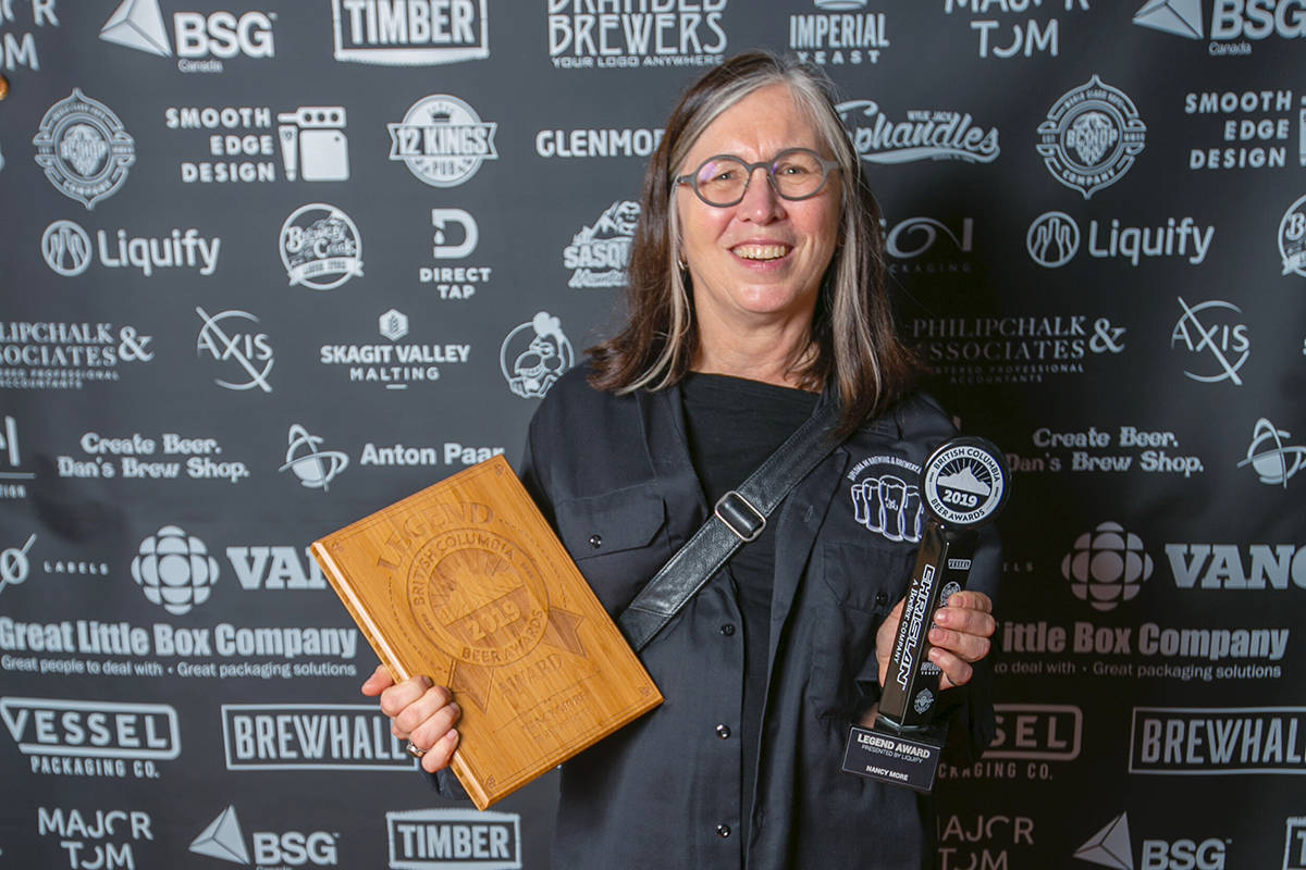 Nancy More has been a brewmaster for more than 30 years and has a scholarship award named after her. (Joshua Peter Grafstein/Special to the Langley Advance Times)