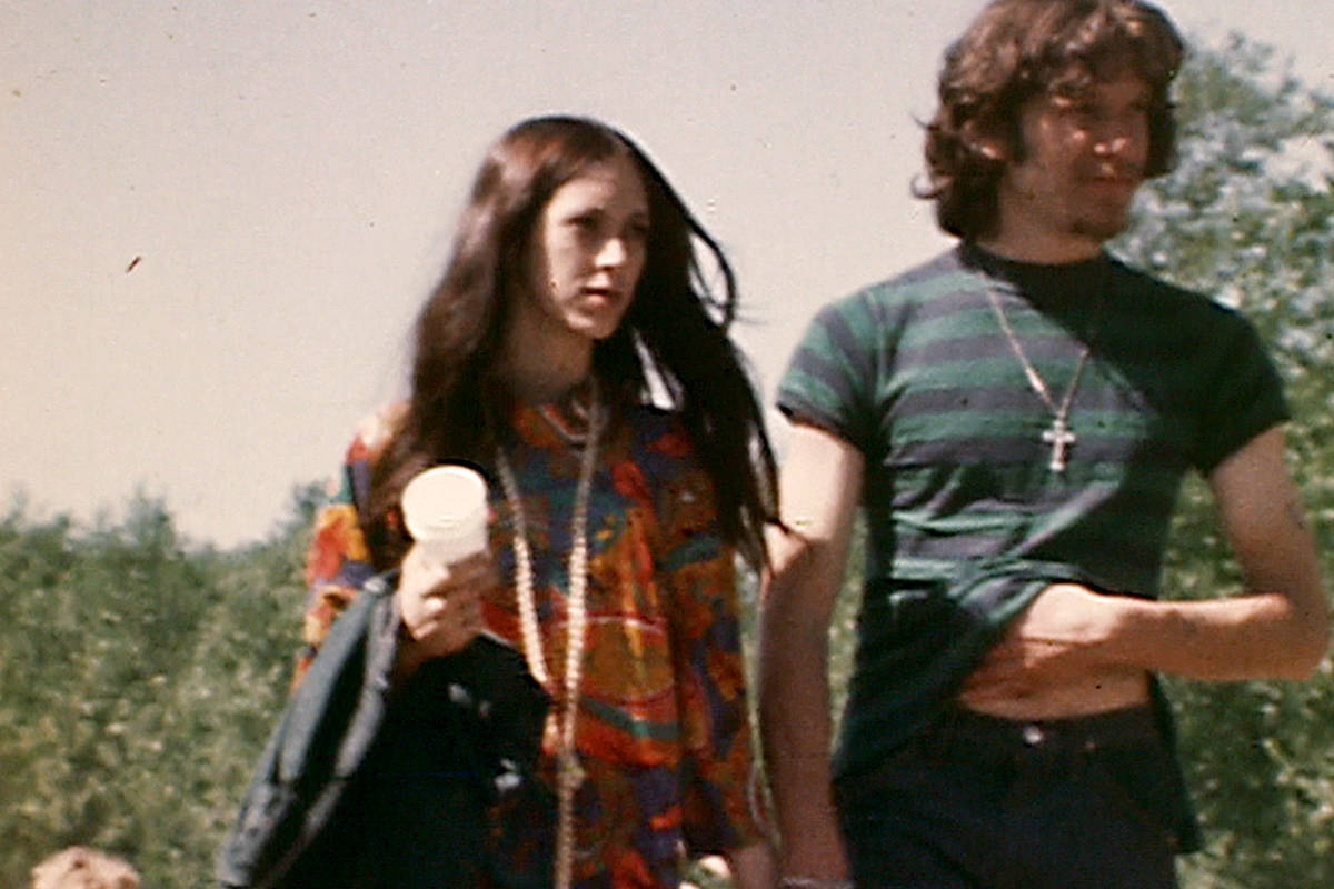 CBC archival photo of couple attending Aldergroovy