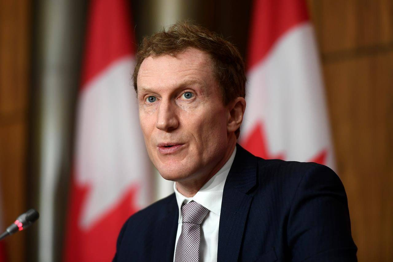 Minister of Indigenous Services Marc Miller participates in a news conference on the COVID-19 pandemic in Ottawa, on Wednesday, Jan. 27, 2021. THE CANADIAN PRESS/Justin Tang