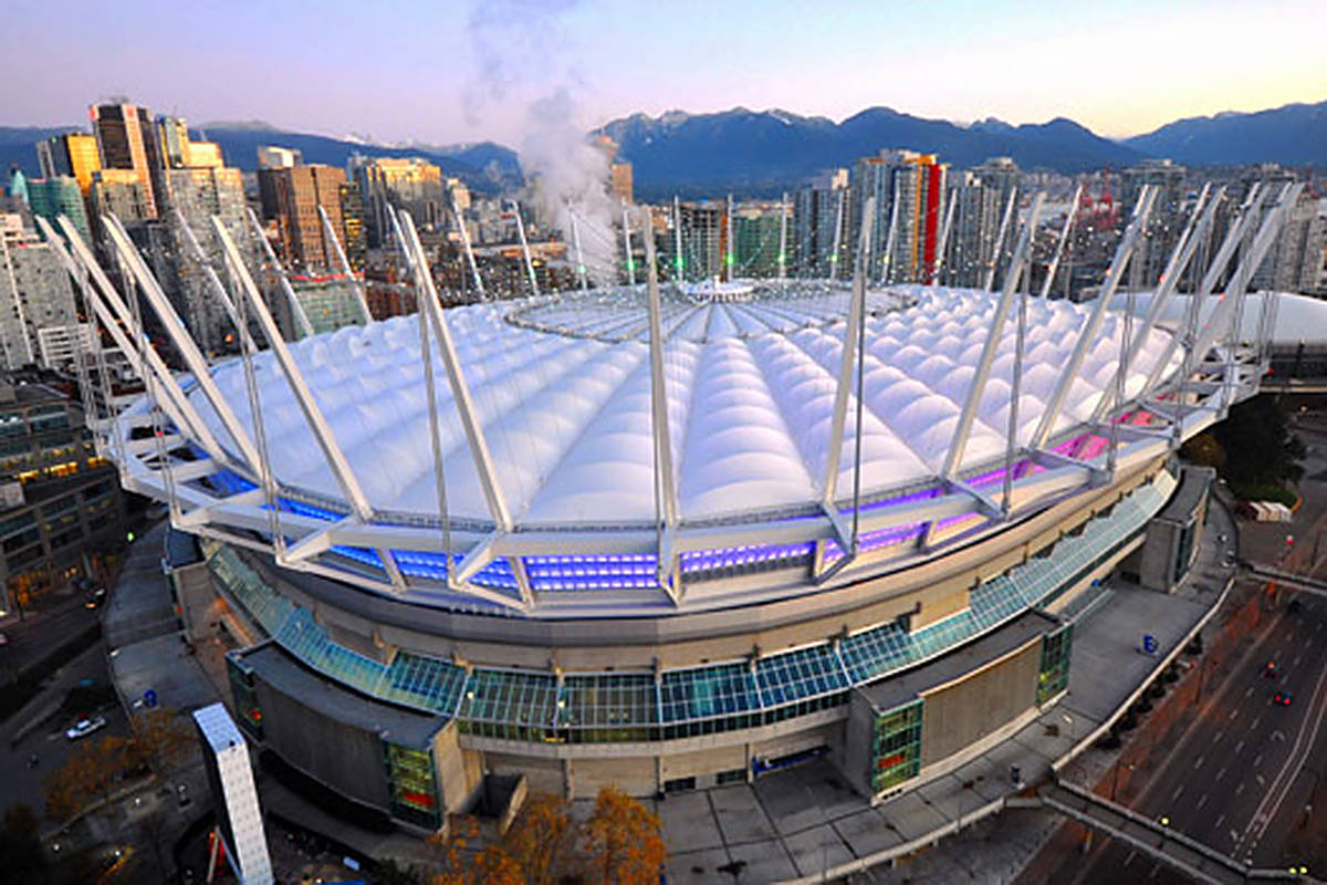 BC Place Stadium in a photo posted to cisc-icca.ca.