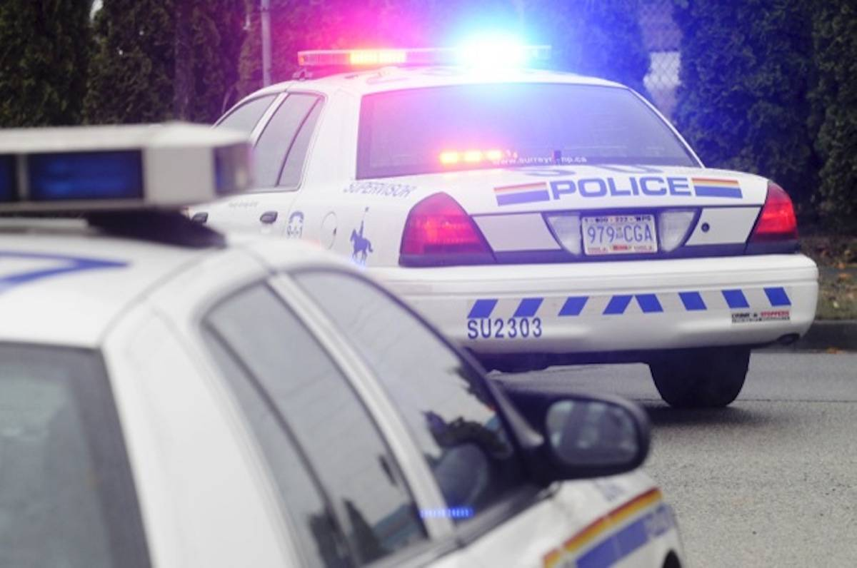 A 19-year-old Langley man and an 18-year-old Burnaby man are in custody for allegedly impersonating police officers. (File photo)