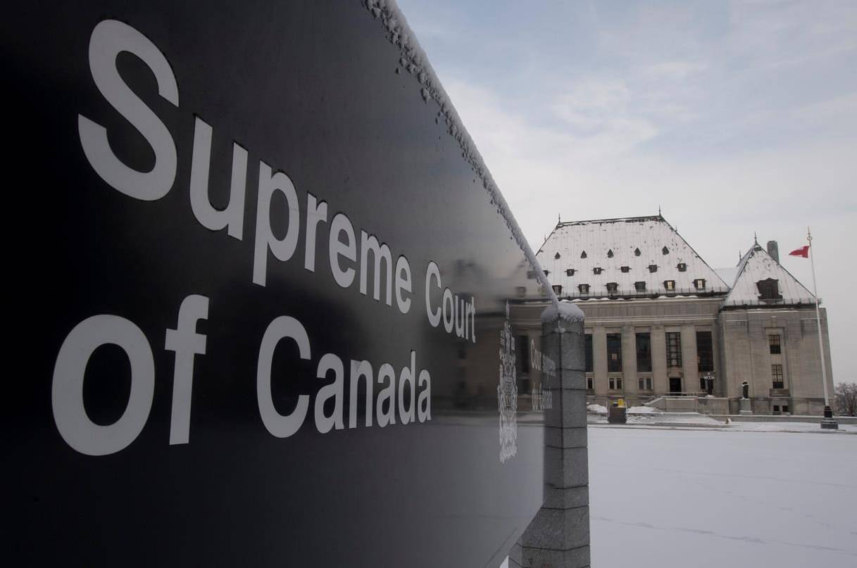 The Supreme Court of Canada is seen in Ottawa on Jan. 16, 2020. The court has agreed to hear a case concerning the use of protection during sex and how that relates to consent and possible deception. THE CANADIAN PRESS/Adrian Wyld