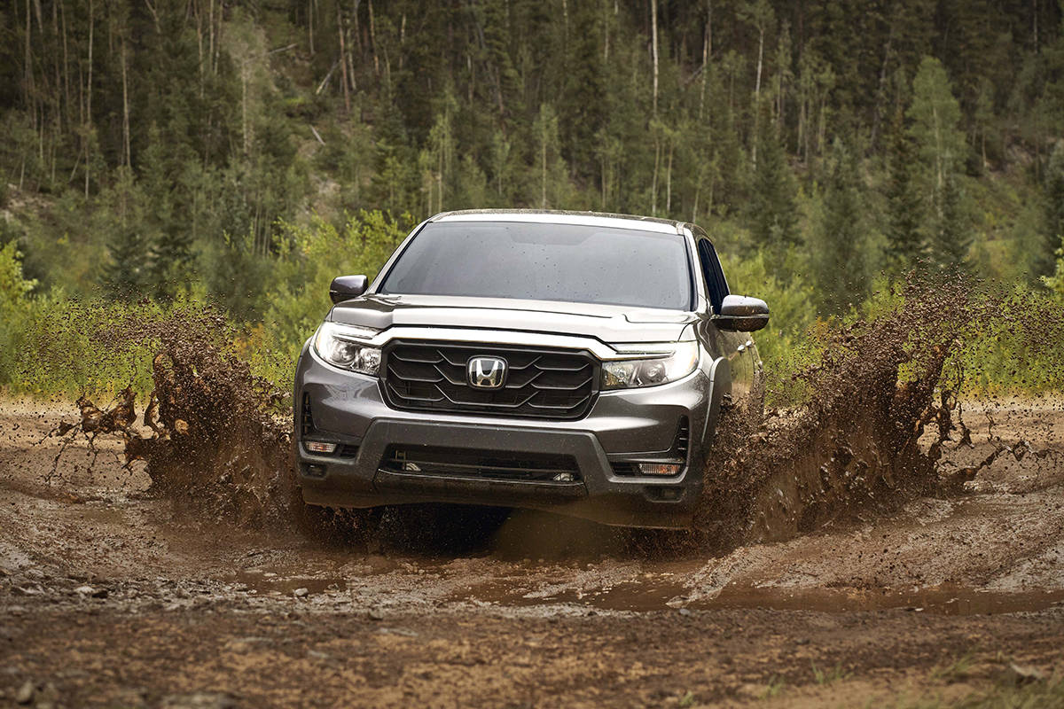 Honda Ridgeline provides a comfortable cabin for five people, clever convenience touches and a rock-solid reputation.