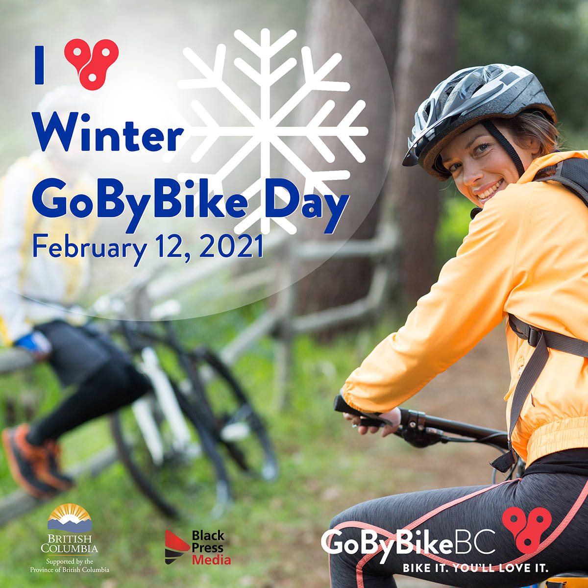 Register now for Winter GoByBike BC Day, then go for a ride on Feb. 12!