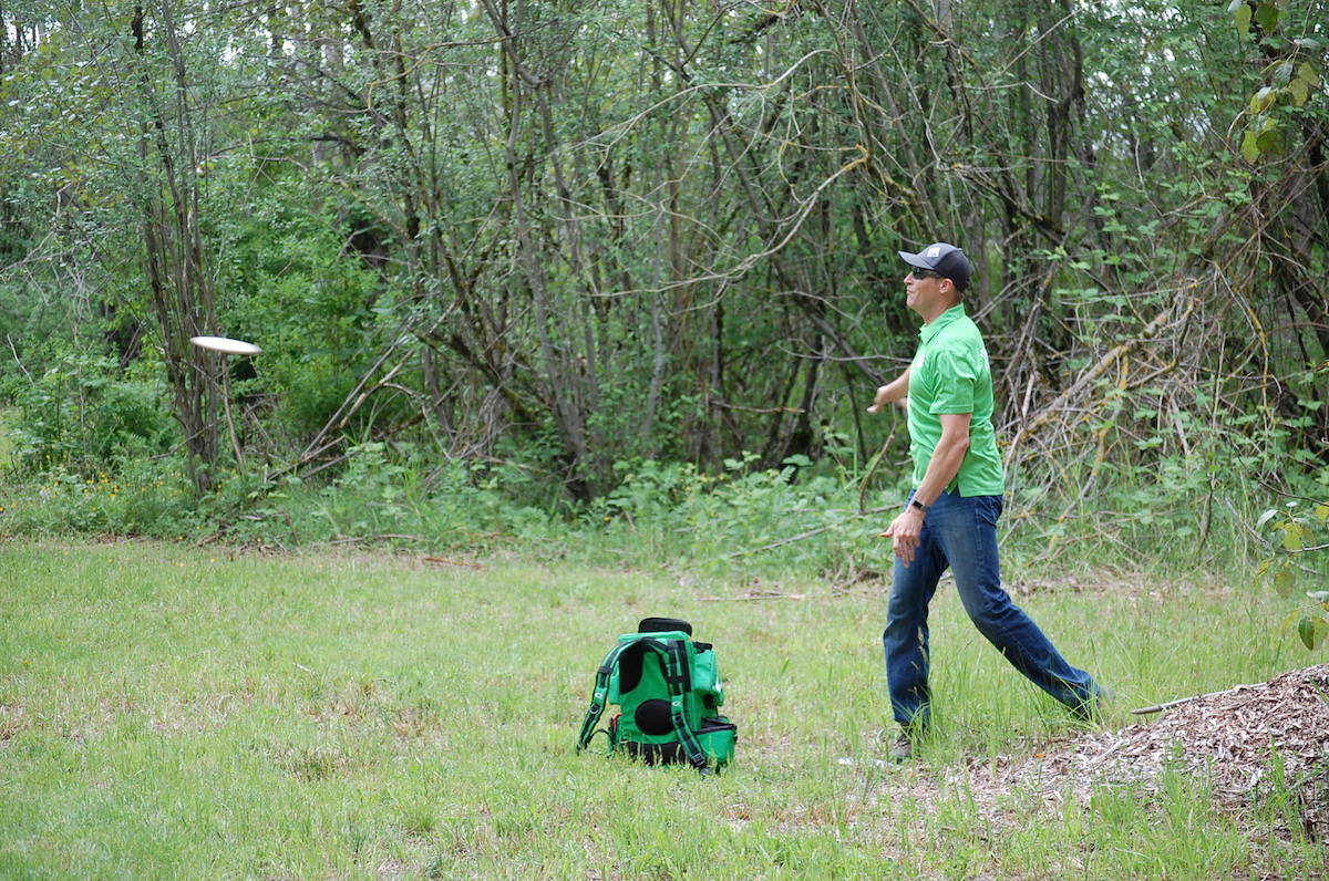 Raptors Knoll Frisbee Golf course is open to the public. (Aldergrove Star Files)
