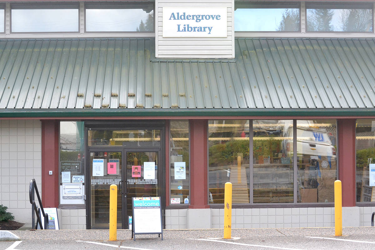 Aldergrove is one of seven Fraser Valley Regional Library network branches within Langley. (Ryan Uytdewilligen/Aldergrove Star)
