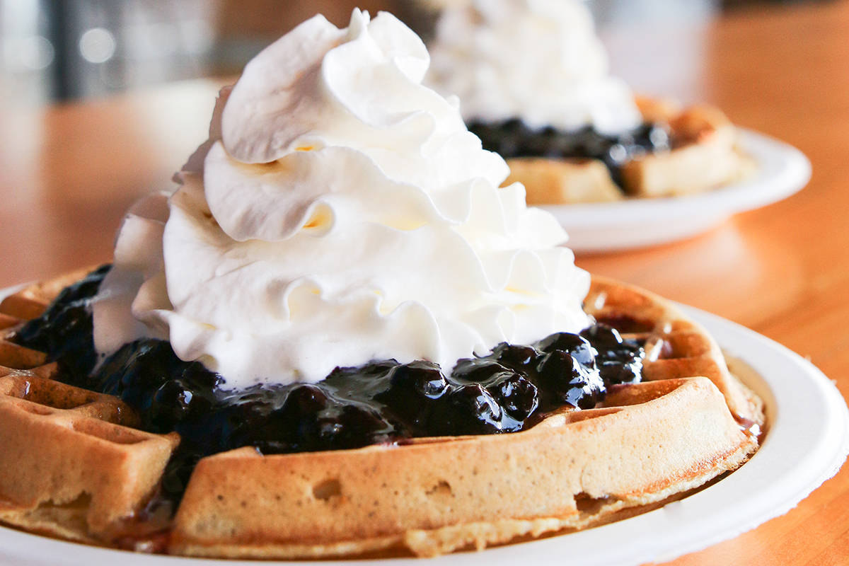 Waffles at Krause Berry Farms is one of the suggested activities. (Special to The Star)