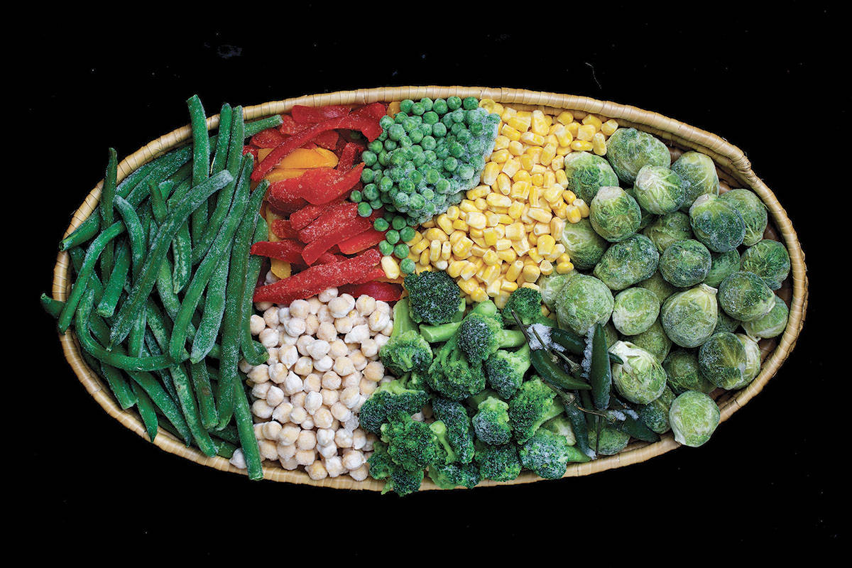 Frozen vegetables have the same nutritional value as fresh but offer more convenience. (Deb Lindsey/Washington Post)