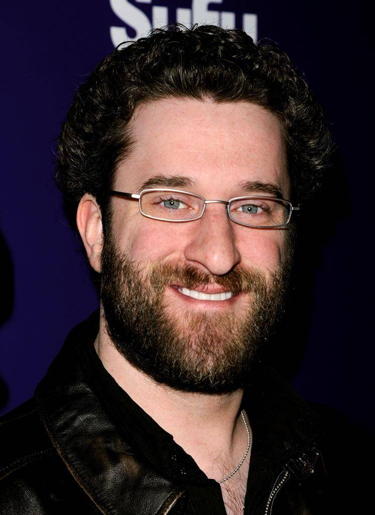 """FILE - In this Jan. 24, 2011 file photo, Dustin Diamond attends the SYFY premiere of """"Mega Python vs. Gatoroid"""" at The Ziegfeld Theater in New York. Diamond died Monday after a three-week fight with carcinoma, according to his representative. He was 44. Diamond, best known for playing Screech on the hit '90s sitcom """"Saved by the Bell,"""" was hospitalized last month in Florida and his team disclosed later he had cancer. (AP Photo/Peter Kramer, File)"""
