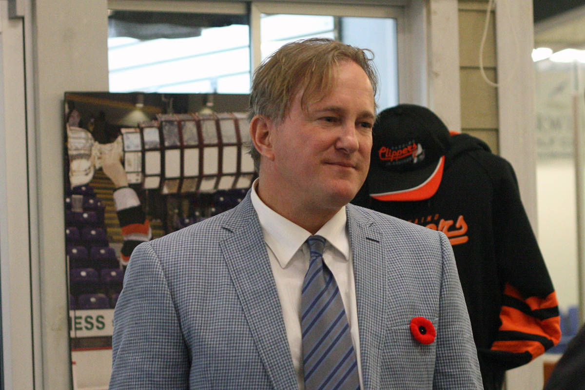 Nanaimo Clippers owner Wes Mussio. (News Bulletin file photo)