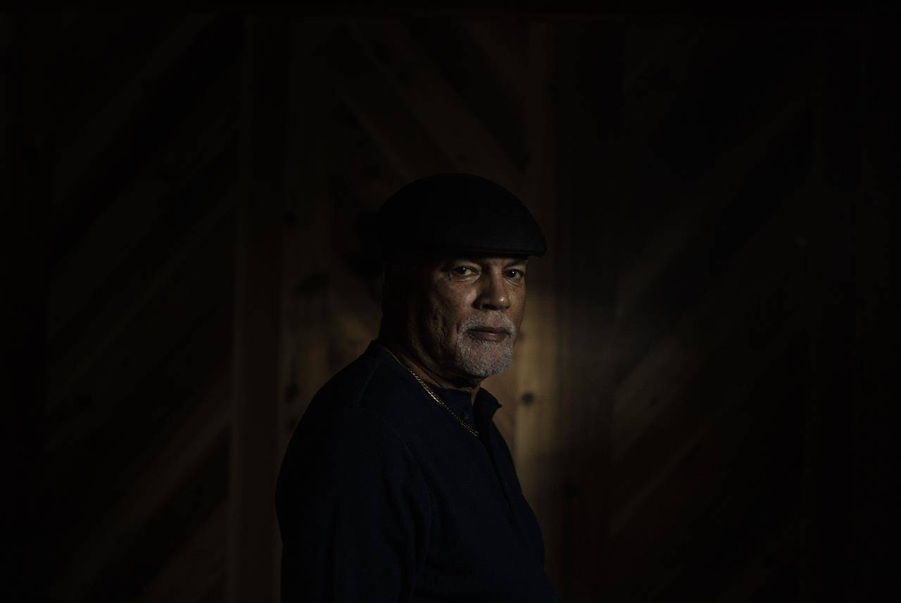 Ron Mapp poses for a photo in Edmonton, on Wednesday, Feb. 3, 2021. Mapp grew up in Amber Valley, Alta. and his great-grandfather was one of the scouts who visited the area and returned with the first wave of African-American settlers in 1910. THE CANADIAN PRESS/Jason Franson