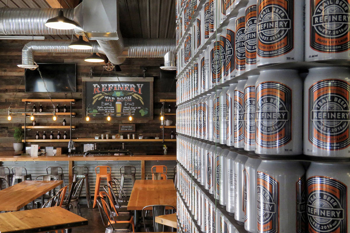 Photo courtesy Trail Beer Refinery