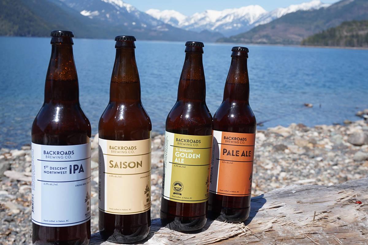 Photo courtesy Backroads Brewing Co.