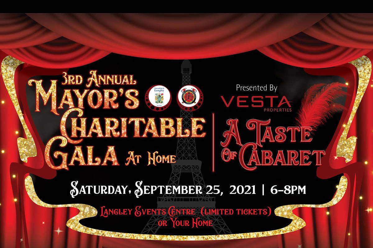 The third annual Mayor's Charitable Gala will be a virtual fundraiser on Sept. 25. (Andy Scheffler graphic)