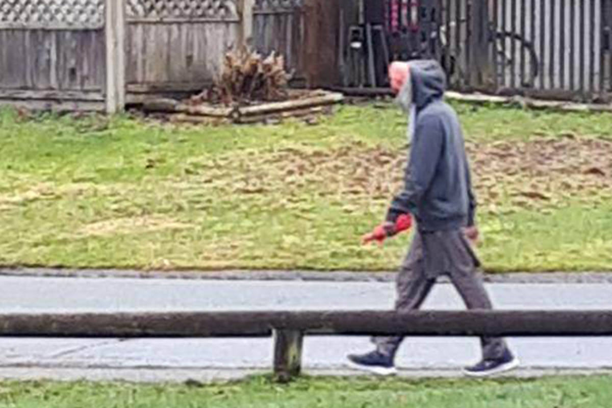 Surrey RCMP are asking for help identifying this suspect after a sexual assault in a Newton park on Thursday (Feb. 4). (Photo: RCMP)