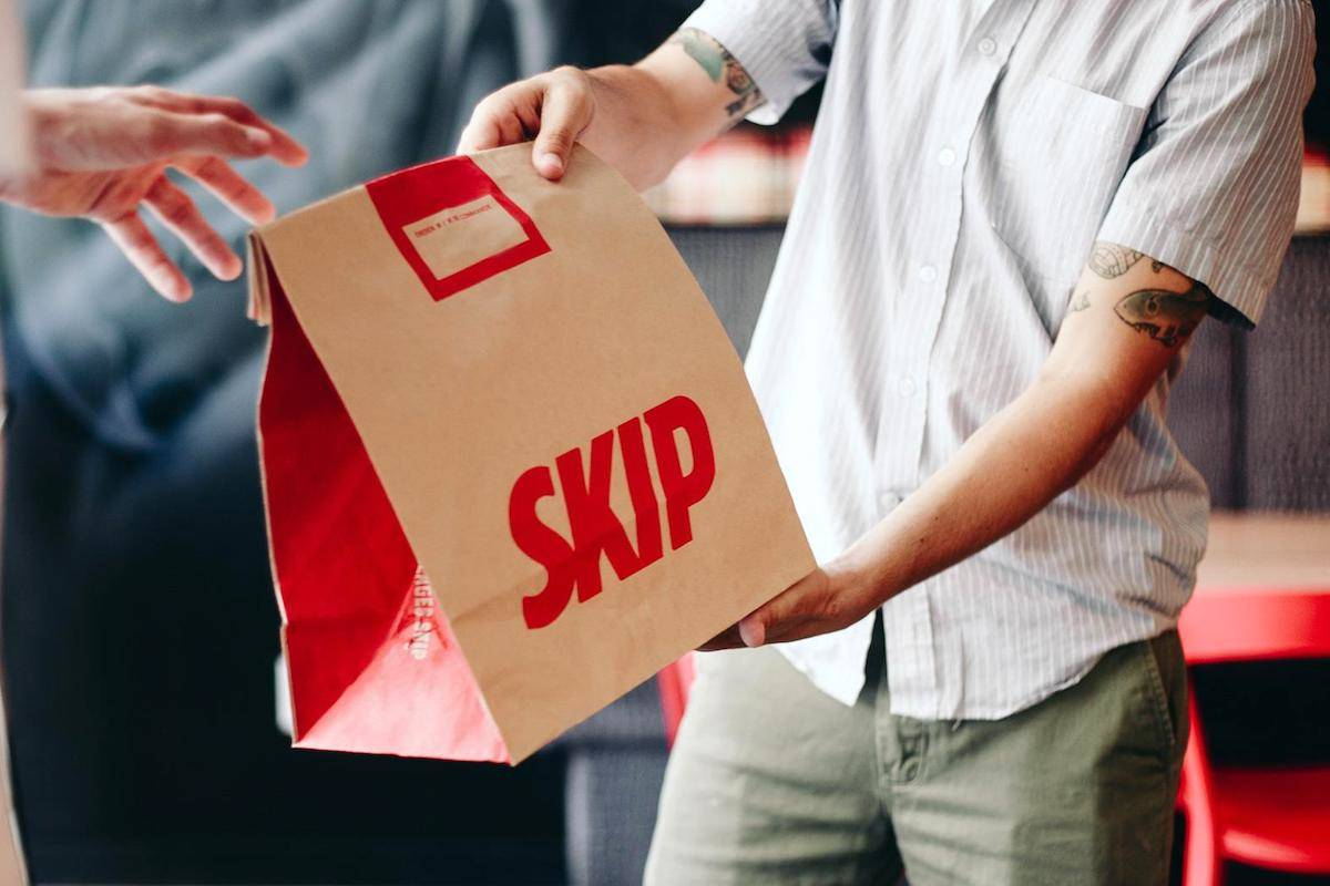Third-party delivery apps are making it tough for local businesses to find any profit during the COVID-19 Pandemic. (Skip The Dishes photo)