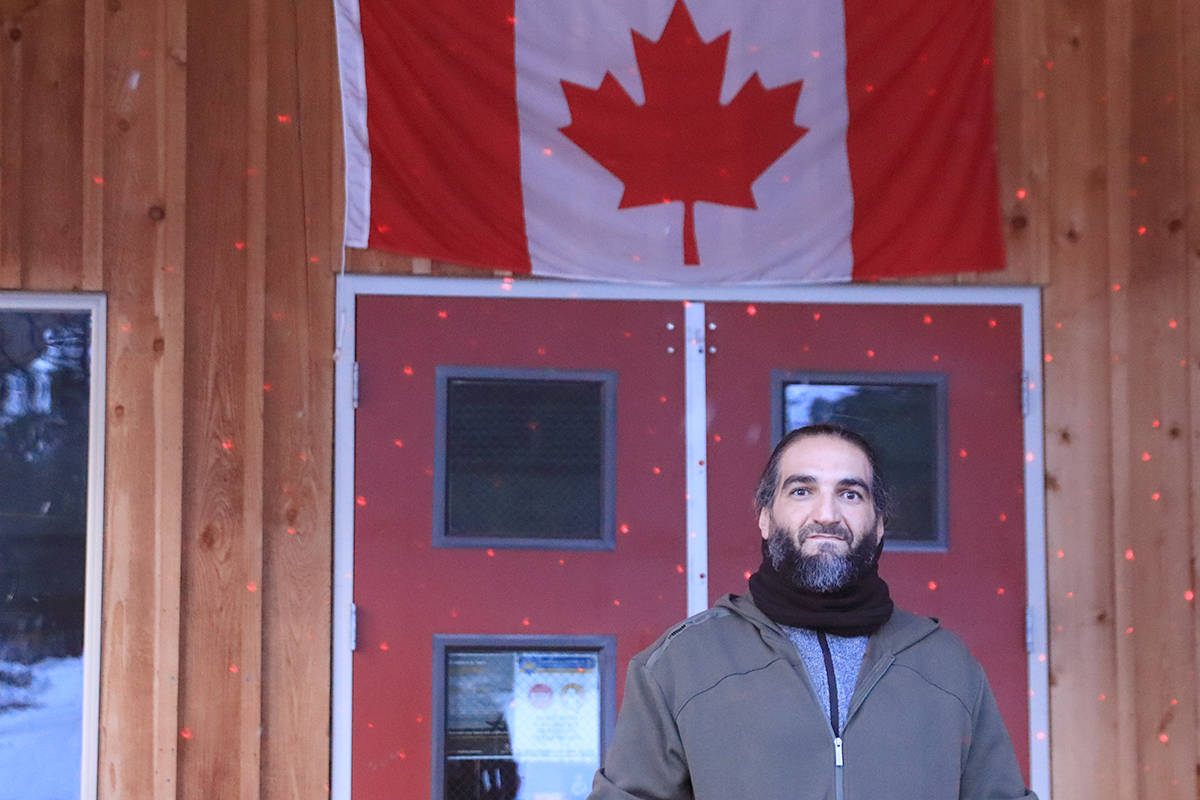 """Othman Ayed Hamdan, who goes by """"Adam, is suing the Crown and the Canada Border Services Agency, alleging they arbitrarily detained him at a B.C. jail after his 2017 acquittal on terrorism-related charges. Photo: Laurie Tritschler"""