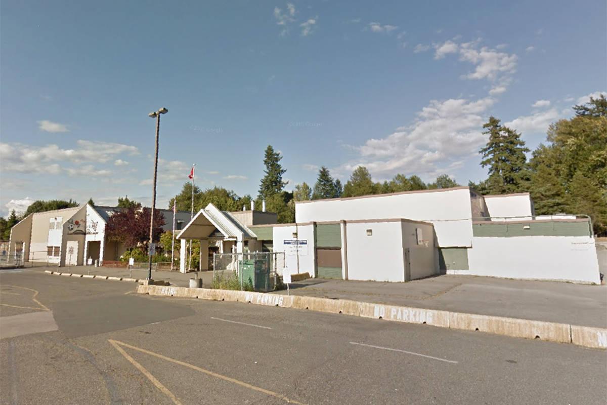 Parkside Elementary school (undated Google Maps image)