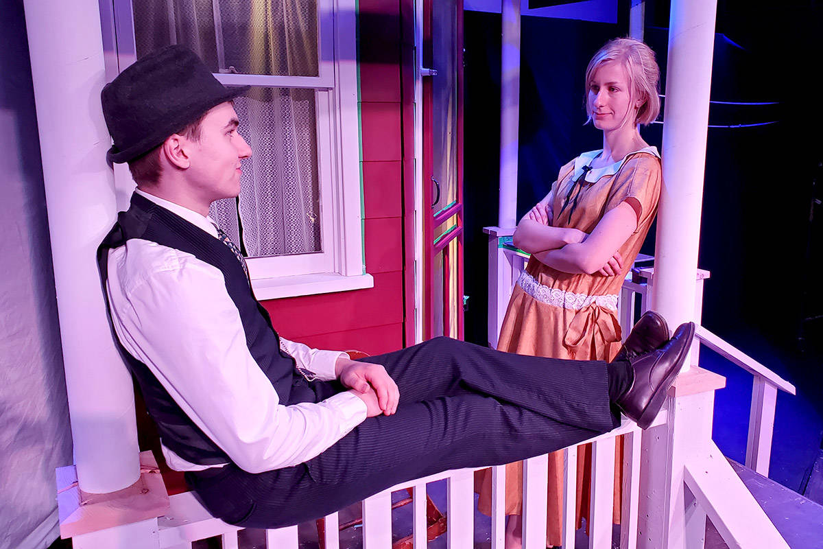 Hannah Everett and Tyler Boe star in Theatre in the Country's livestream production of <em>Saltwater Moon</em>.(Reg Parks/Special to The Star)