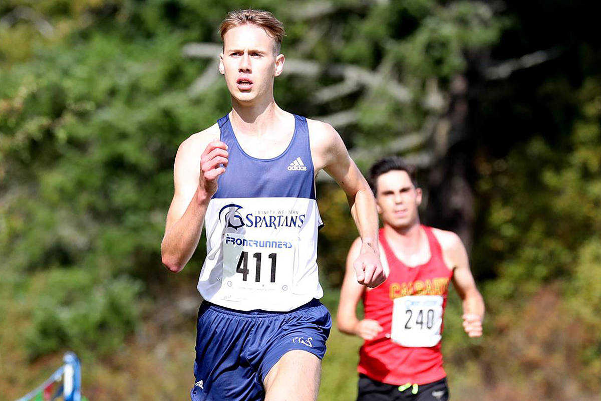 Langley runner Nick Colyn will run a collective 725-kilometre stretch – the same distance of northern British Columbia's Highway of Tears where Indigenous women and girls have been murdered or gone missing. (TWU/special to Langley Advance Times)