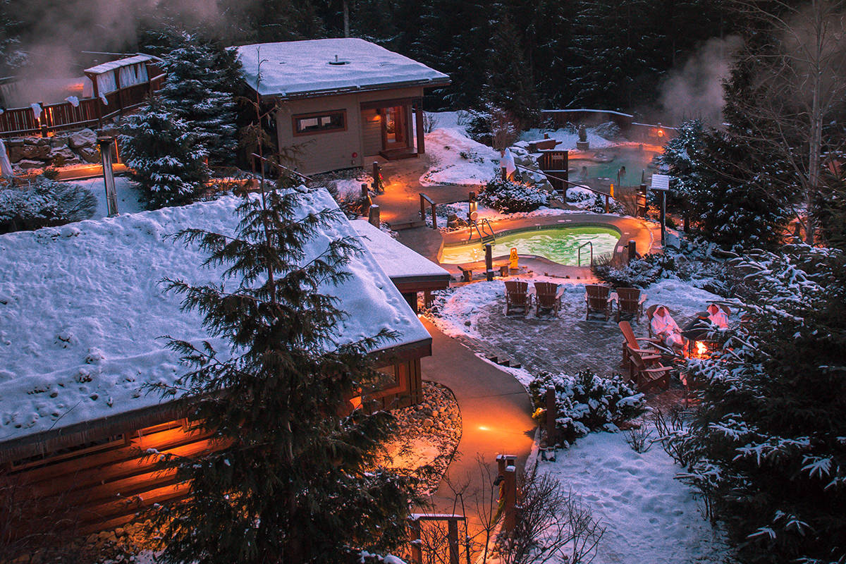 Photos courtesy Scandinave Spa and Tourism Whistler