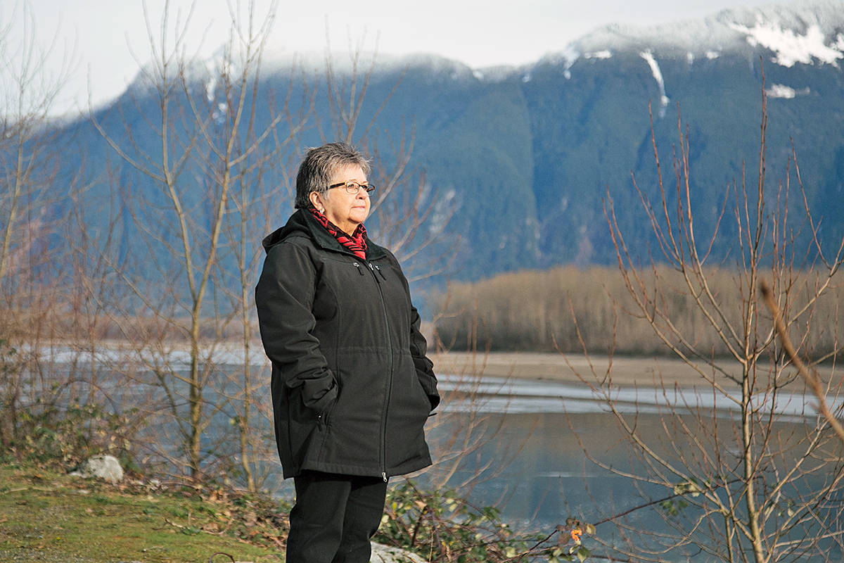 Patricia Victor, Sto:lo Elder and Director of TWU's Institute of Indigenous Issues and Perspectives, hopes Moose Hide Campaign Day will raise awareness of domestic violence. (Special to Langley Advance Times)