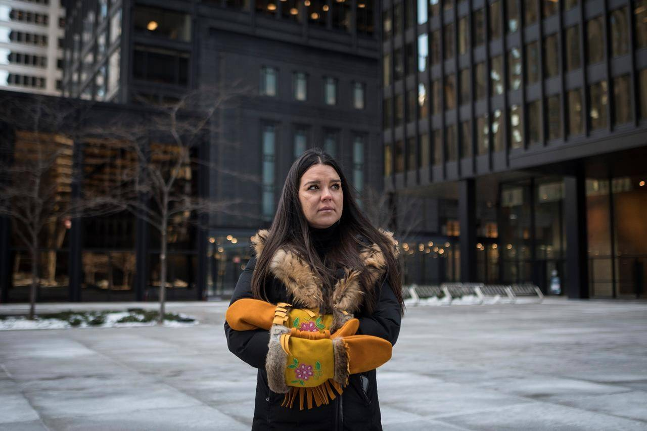 Krystal Abotossaway, TD Bank Group's senior manager of diversity and inclusion, poses for a photograph in Toronto's financial district on Monday, February 8, 2020. THE CANADIAN PRESS/ Tijana Martin