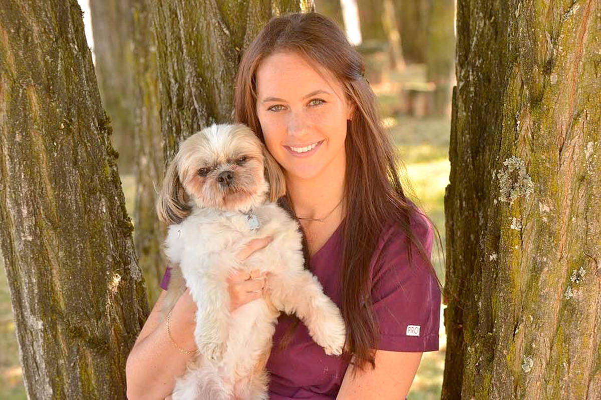 Tammy Timperley, practice manager of Aldergrove Animal Hospital. (Special to The Star)