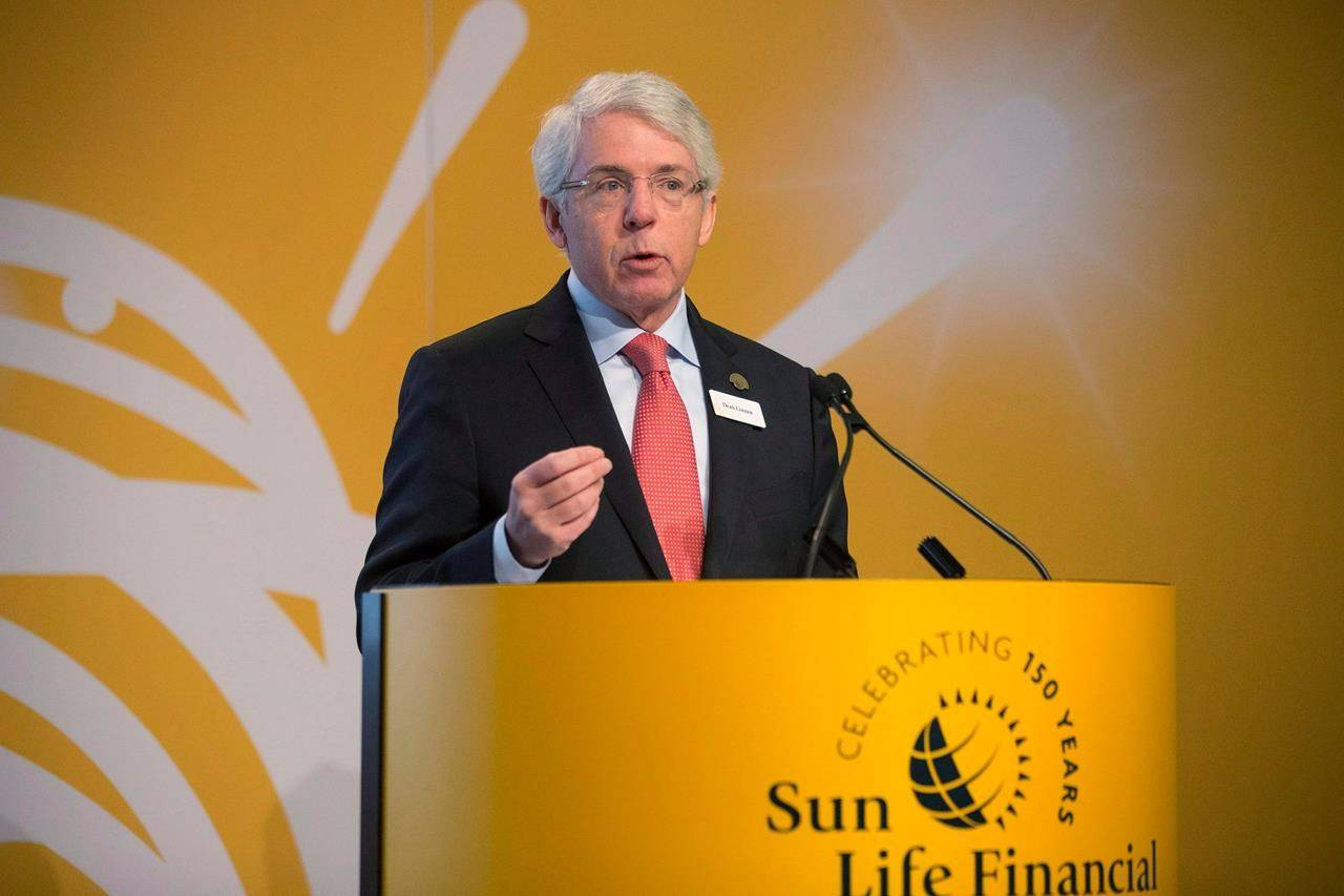 Sun Life Financial Inc. President and CEO Dean Connor attends the company's annual general meeting in Toronto on Wednesday, May 6, 2015. Amid the grim backdrop of COVID-19 fatalities, Canadian insurers have also found an increased interest in life and health insurance. THE CANADIAN PRESS/Chris Young