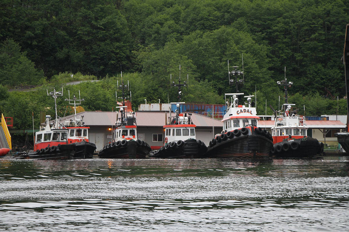 Wainwright Marine Services Ltd. tugboats. A company tugboat went missing in the Garner Canal area south and east of Kitimat. (Wainwright Marine Services Ltd./Facebook)