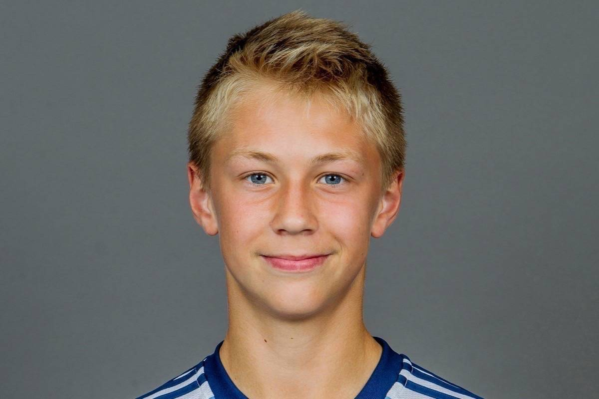 Surrey traffic crash victim Travis Selje, 17. (Submitted photo)
