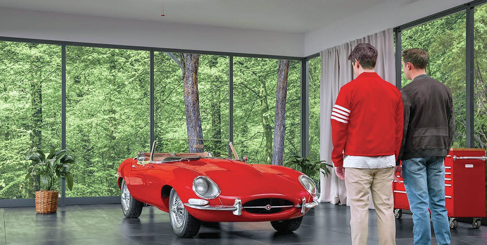 A new advertising spot recalls the joyriding scene from the movie <em>Ferris Bueller's Day Off</em>. PHOTO: YouTube screen grab