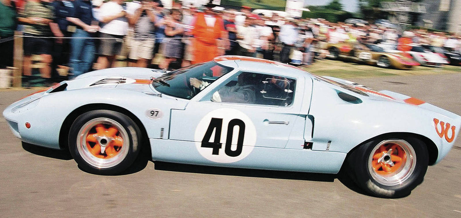 The Sleuth isn't too sure about risking an original GT40 in a racing series, but that hasn't stopped one from being organized.PHOTO: FORD ARCHIVES