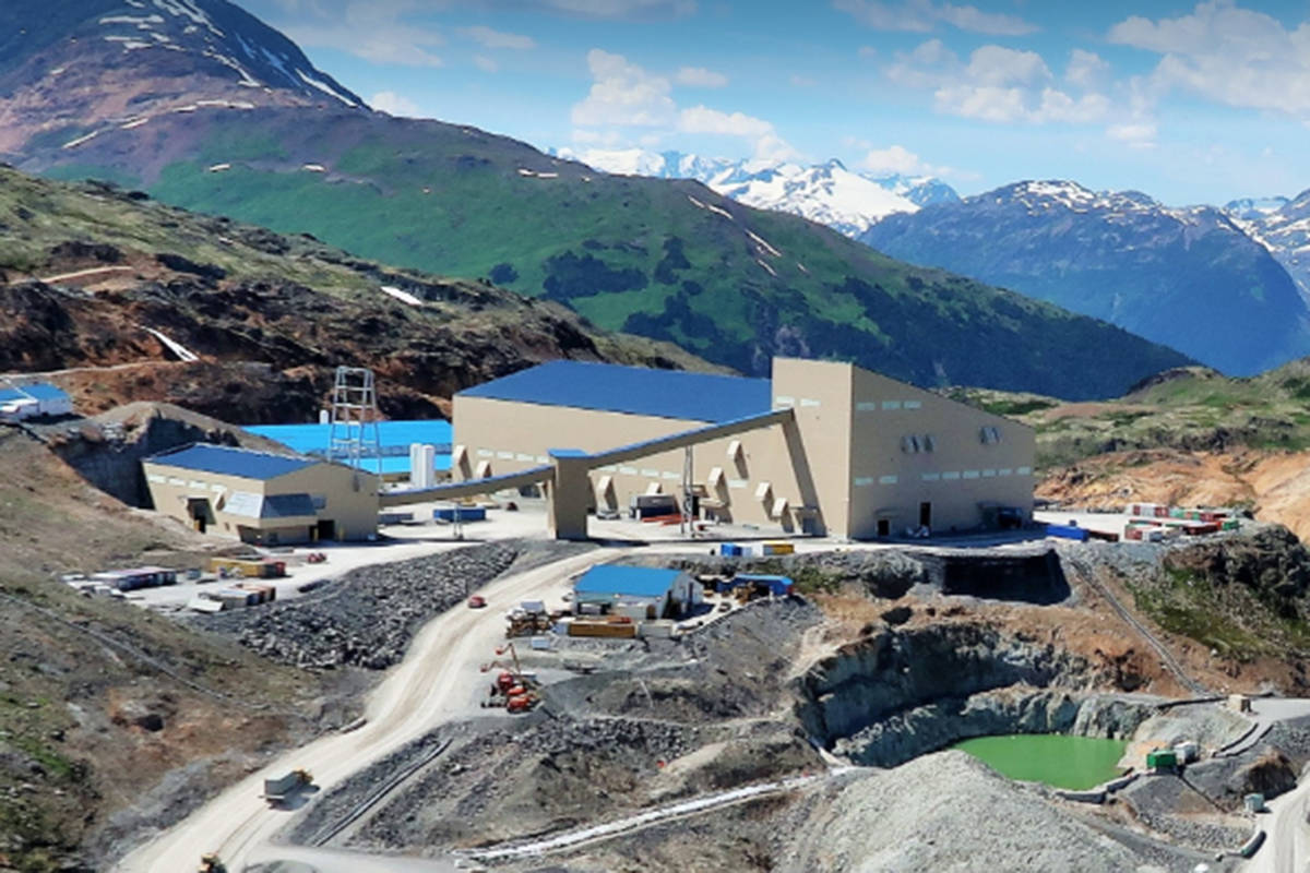 Brucejack mine in northwestern B.C. is the latest site of an industrial cluster of COVID-19 cases. (Smithers Interior News)