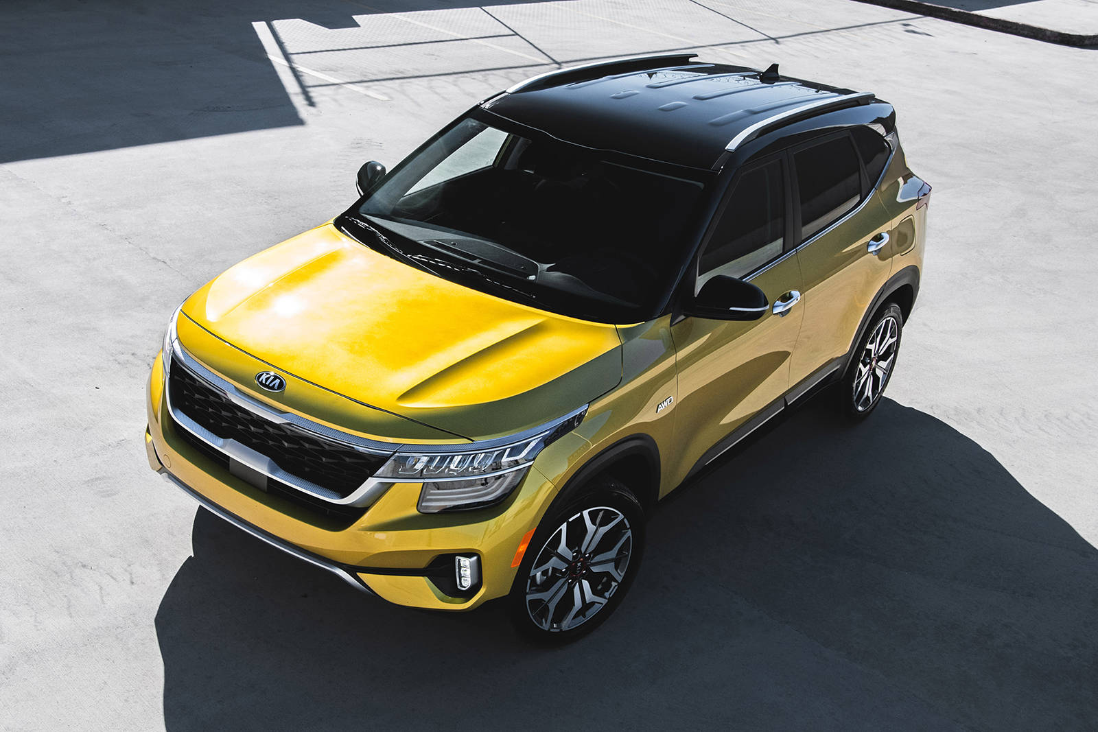 While competitors might only offer front-wheel-drive or all-wheel-drive for the higher trims, for the Seltos, front-wheel-drive is available only with the base trim. PHOTO: KIA