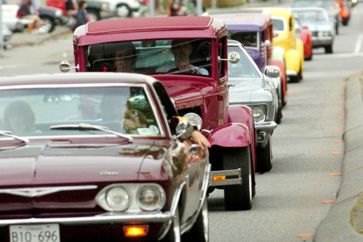 Langley Good Times Cruise-In. (Aldergrove Star files)