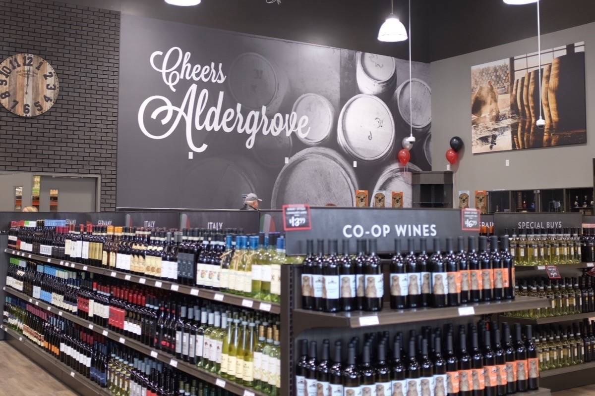 Otter Co-op liquor store in Aldergrove. (Aldergrove Star files)
