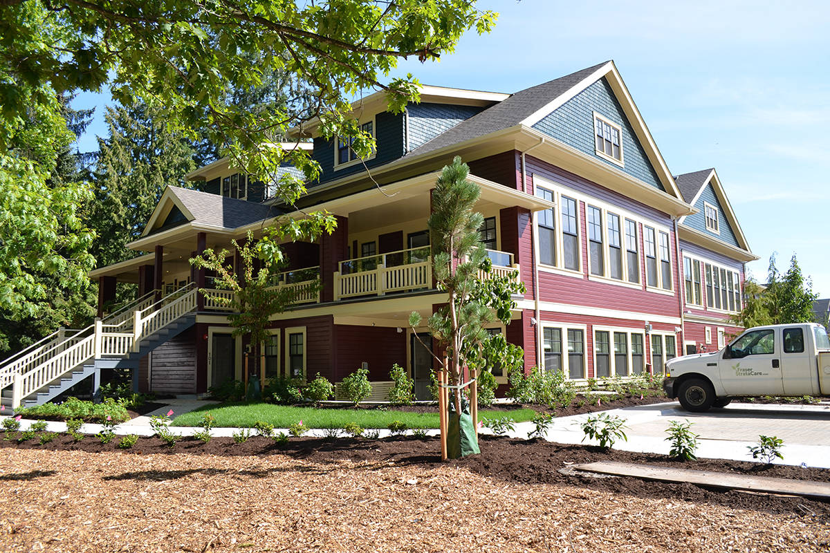 Originally built in 1911 as a two-room schoolhouse known as Belmont Superior School, the building has been revitalized (Special to Langley Advance Times)