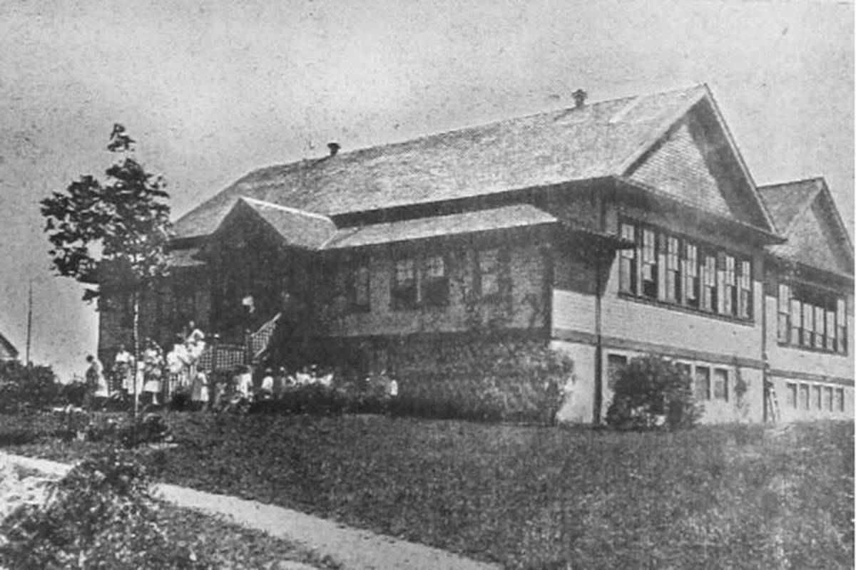 Originally built in 1911 as a two-room schoolhouse known as Belmont Superior School, the building was revitalized in 2020 (Special to Langley Advance Times)
