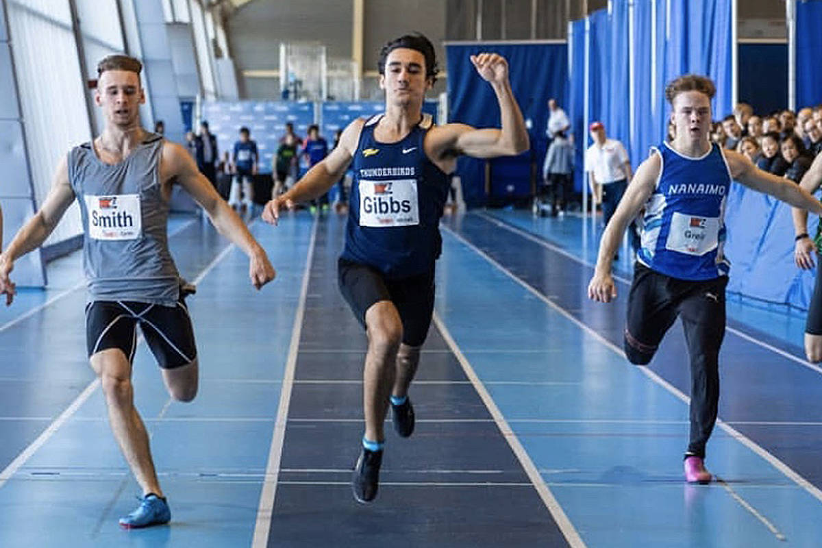 Langley's Mitchell Gibbs, who currently runs for the Vancouver Thunderbirds, will run for UBC (Special to Langley Advance Times)