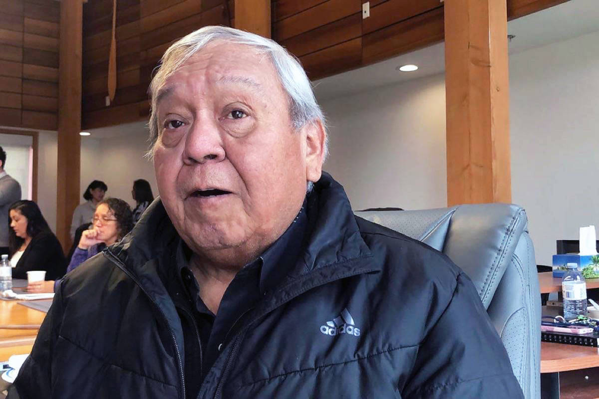 Cowichan Tribes Chief William Seymour has confirmed that two more members of the First Nation died last weekend from COVID-19. (File photo)