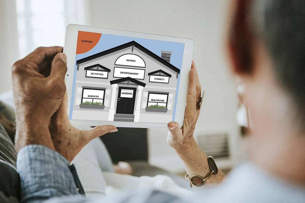 New South Surrey-developed app makes connecting to entertainment and service providers much easier for seniors. (file photo)