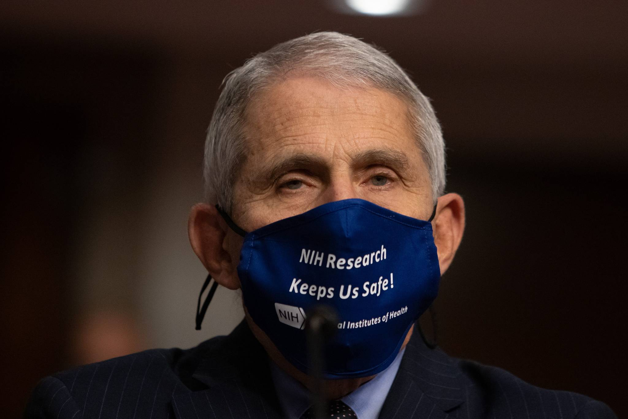 Dr. Anthony Fauci, director of National Institute of Allergy and Infectious Diseases at NIH. (Pool/Getty Images/TNS)