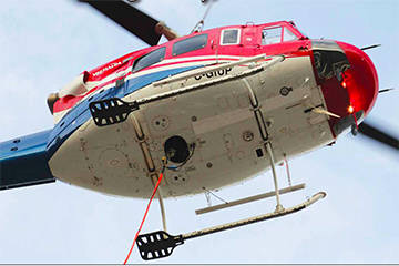 It took a helicopter to find missing Hope man in Manning Park. File photo