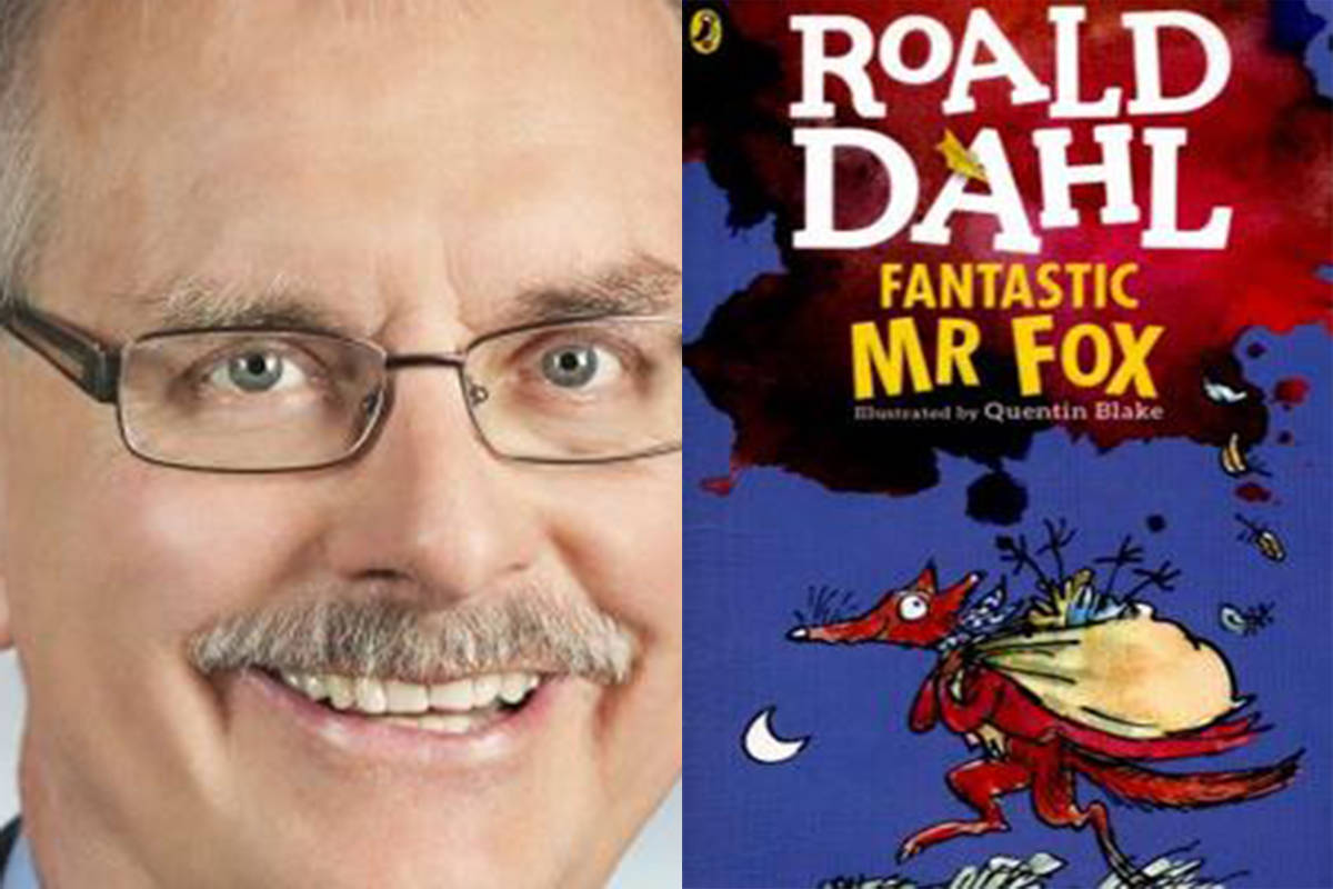 School Board Trustee candidate Charlie Fox said his favourite children's book is Fantastic Mr. Fox by Roald Dahl. (Special to The Star)