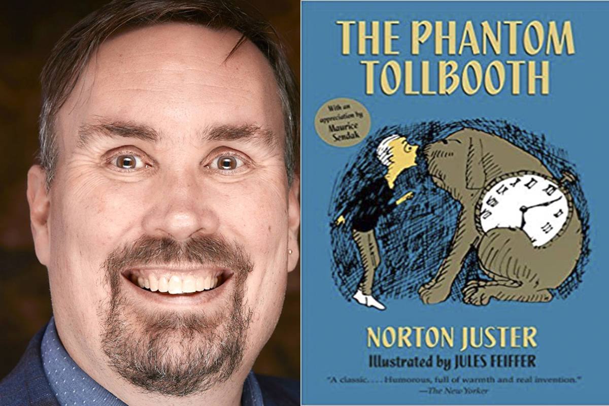 School Board Trustee candidate Grant Gilmour said his favourite children's book is The Phantom Toll Booth by Norton Juster. (Special to The Star)
