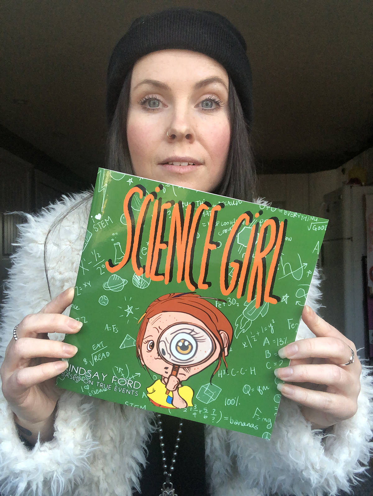 Nanaimo children's author and illustrator Lindsay Ford's latest book is 'Science Girl.' (Photo courtesy Lindsay Ford)