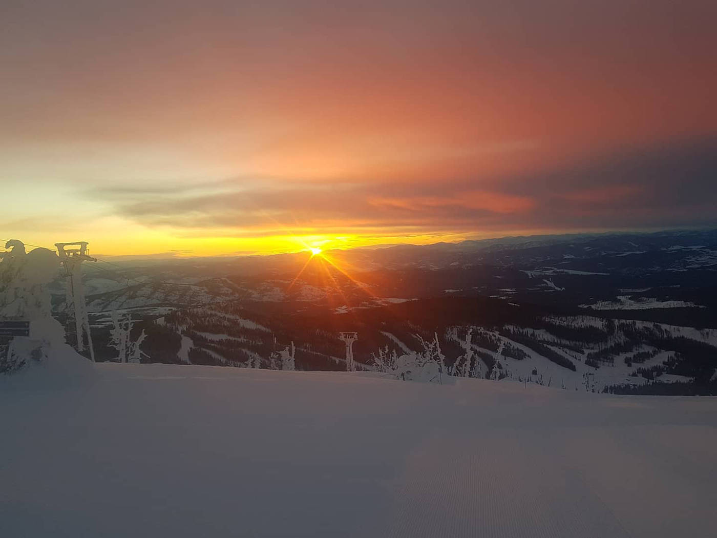 Baldy Mountain Resort was shut down on Saturday after a fatal workplace accident. (Baldy Mountain picture)