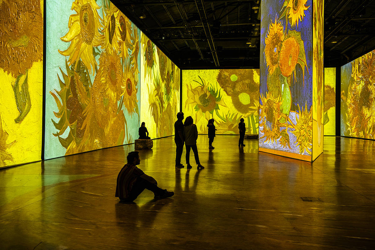 "A view of the ""Imagine Van Gogh"" art exhibit coming to Vancouver this spring. (submitted photo)"