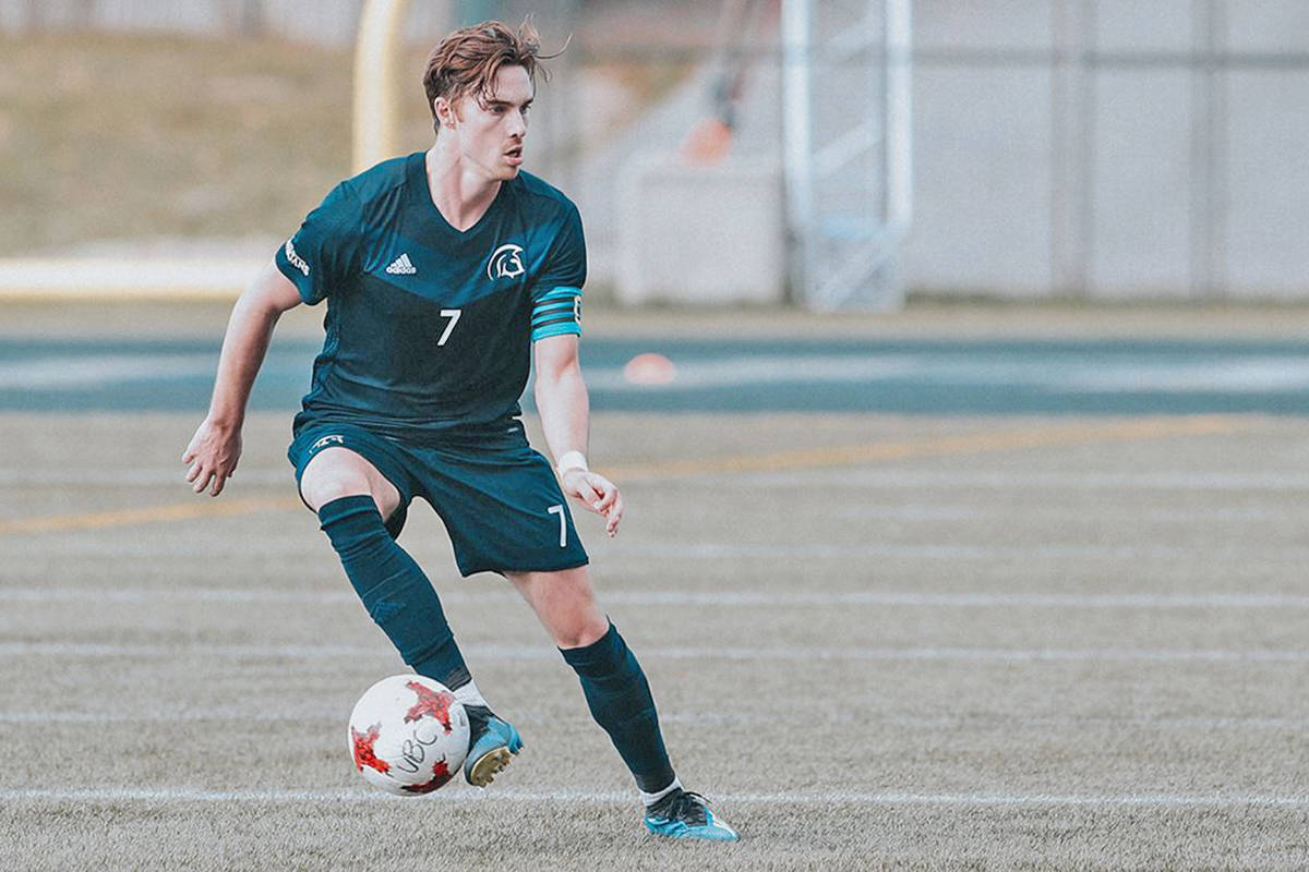 Aldergrove's Joel Waterman is the first player from Langley-based Trinity Western University to win a spot on the national team training camp (TWU file image)